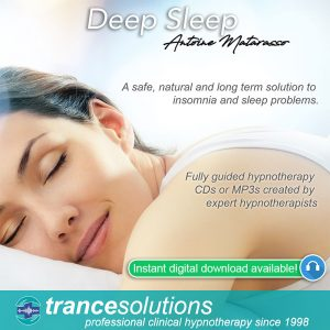 Hypnosis CDs and MP3s for Insomnia