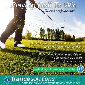 Hypnosis CDs and MP3s To Improve Golf