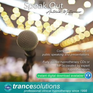 Hypnosis CDs and MP3s for Public Speaking