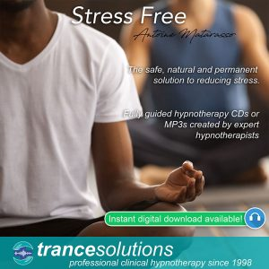 ypnosis CDs and MP3s to reduce stress